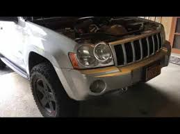 jeep grand change 2006 jeep grand wk front and rear differential fluid