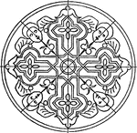 renaissance ornament clipart etc