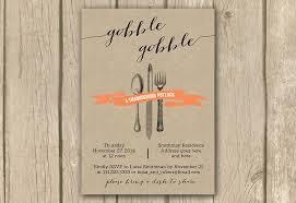 printable thanksgiving invite evite gobble gobble invite