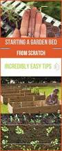 starting a garden bed from scratch tips and ideas gardens