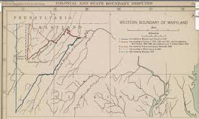 Wv State Parks Map by The Fairfax Stone And West Virginia V Maryland Traveling 219