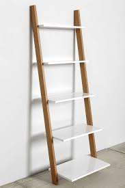 White Leaning Bookshelves by Leaning Bookcase Urban Outfitters Awesome And Urban