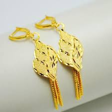 gold earrings for wedding 2018 gold plated earrings bridal wedding earrings wedding gift
