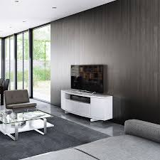 Modern Tv Stands White Modern A V Stands Bdi Sweep White Modern Tv Stand Eurway