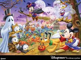 stich halloween background cute disney wallpapers for desktop wallpapersafari