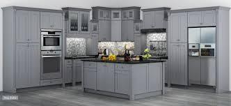 gray shaker newport cabinet on demand