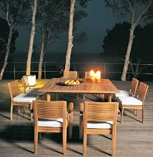 Solid Wood Patio Furniture by Triconfort Outdoor Furniture The Equinox Solid Wood Furniture