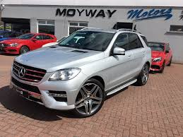 used mercedes m class uk used mercedes m class suv 2 1 ml250 cdi bluetec amg sport 7g