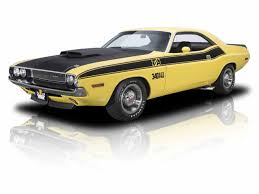 Dodge Challenger Yellow - classic dodge challenger t a for sale on classiccars com 7 available