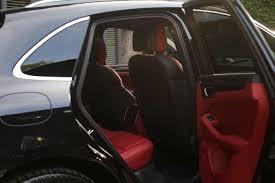 black porsche red interior porsche macan s diesel 258cv perfect suv trends shaker