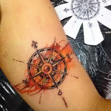 one piece compass tattoo 42 friggin amazing compass tattoos tattooblend