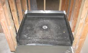 Chloraloy Shower Pan by Shower Pan Kit Low Profile Shower Base Shower Pan Shower Pans