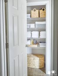 bathrooms design bath towel cabinet linen closet storage tall