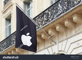 Apple Store Paris Paris July 6 Apple Logo On Stock Photo 226684489 Shutterstock