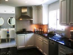 kitchen painted white kitchen cabinets in trendy chalkboard