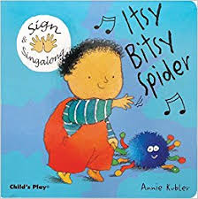 sign and sing along itsy bitsy spider kubler