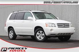 used car toyota highlander used 2003 toyota highlander for sale pricing features edmunds