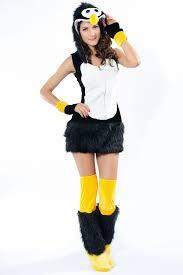 Fluffy Halloween Costumes Womens Deluxe Penguin Halloween Costume