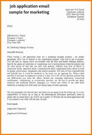 marketing job application letter sample writing and editing services