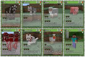 minecraft cards it s a trading card with a minecraft theme this plays