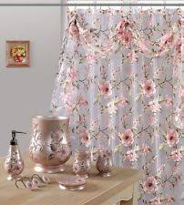 Sheer Shower Curtains Floral Fabric Shower Curtains Ebay