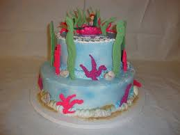 ariel under the sea birthday cake
