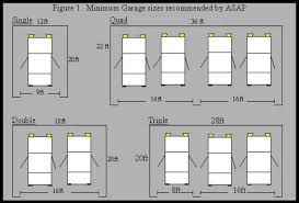 4 car garage size home garage sizes house plans 6377