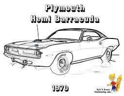 muscle car coloring pages theotix