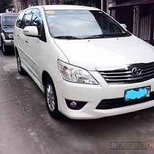 toyota philippines innova 2017 toyota innova g 2013 new and used cars for sale philippines