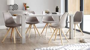 Gloss Dining Tables Modern Grey Gloss Dining Table 6 Seater Dining Table Uk
