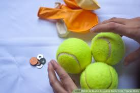 how to make juggling balls from tennis balls 7 steps