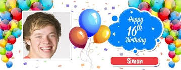 happy birthday design for mug birthday boy balloon design