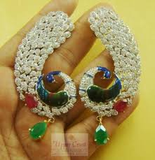kanphool earrings buy peacock kanphul kanphool earrings online