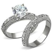 wedding ring sets for women engagement wedding ring sets ebay