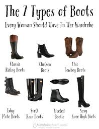 womens biker boots fashion the 7 types of boots every woman should have in her wardrobe