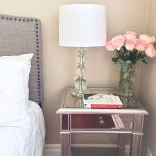 wonderful mirrored glass nightstand mirrored nightstand west elm