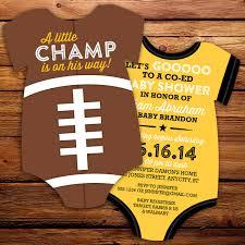 football baby shower football baby shower invitation diy all invitation