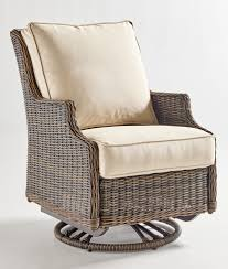 Outdoor Wicker Swivel Chair Richmond Outdoor Wicker Swivel Rocker