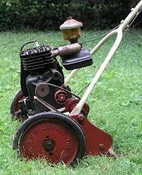 antique mower help indentify 3 wheel vintage lawn mower