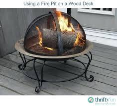 Firepit Mat Pit On Deck Wood Deck Pit Mat Carlislerccar Club
