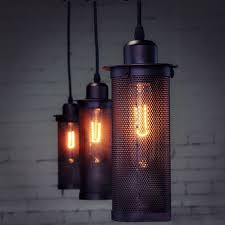 Edison Pendant Light Fixture New Vintage Industrial Diy Ceiling Lamp Edison Light Chandelier