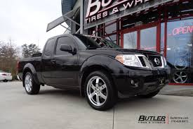 nissan trucks black nissan frontier with 20in black rhino pondora wheels exclusively