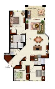 Bedroom Floorplan by Apartment Floor Plans 3 Bedroom 4 Bedroom Luxury Apartment Floor