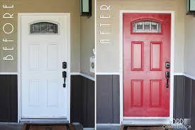 modern door trim door illustrious red front door home depot