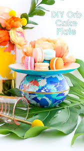 oh joy oh joy for a kailo chic life diy it patterned orb vases and cake plates