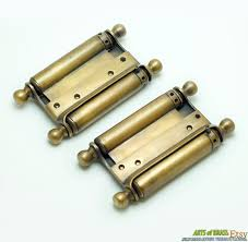 Cafe Swinging Doors Kitchen Saloon Door Hinges U0026 Newest 2pcs Double Action 3 Inch Spring Hinge