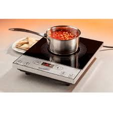 induction cuisine single talking induction hob