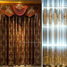 Gold Color Curtains Luxury Bedroom Curtain In Gold Color Chenille Fabric