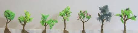 how to make miniature trees