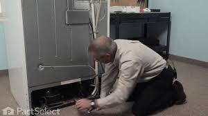 refrigerator condenser fan refrigerator repair replacing the condenser fan motor kit